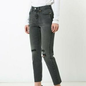 Levi's Wedgie Fit Selvedge High Waist Jeans